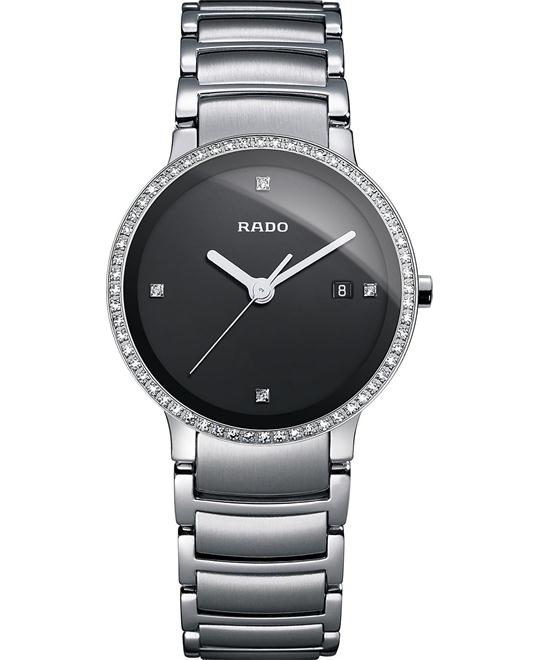 Rado Women's Swiss Diamond Stainless Steel 28mm