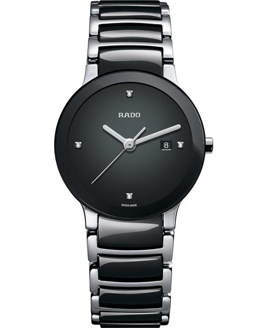 Rado Women's Swiss Diamond Stainless Steel Ceramic 28mm