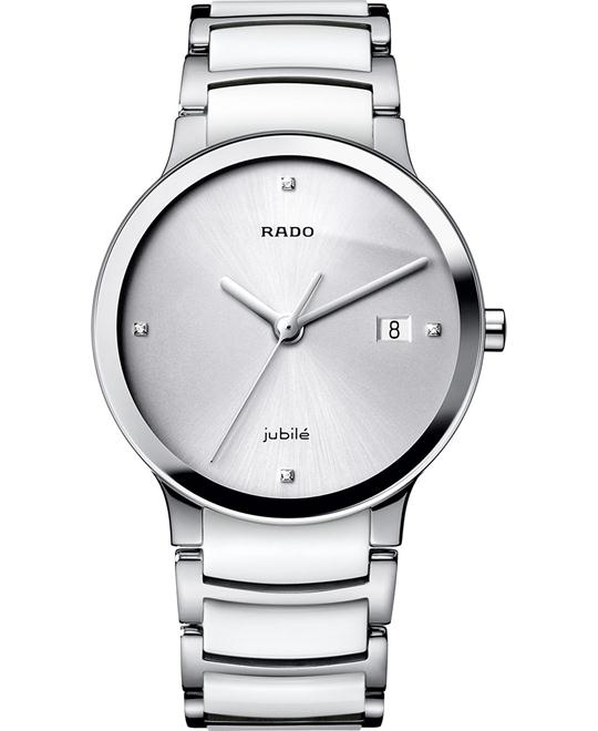 Rado Women's Swiss Diamond Stainless Steel Ceramic 30mm