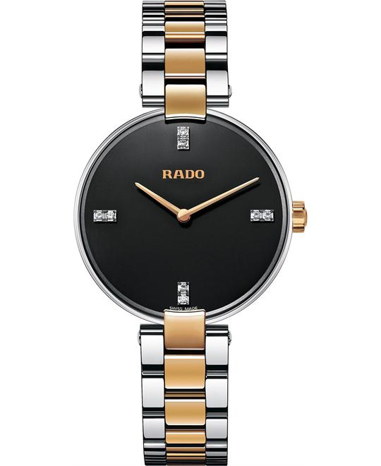 Rado Women's Swiss Diamond Stainless Steel Watch 33mm