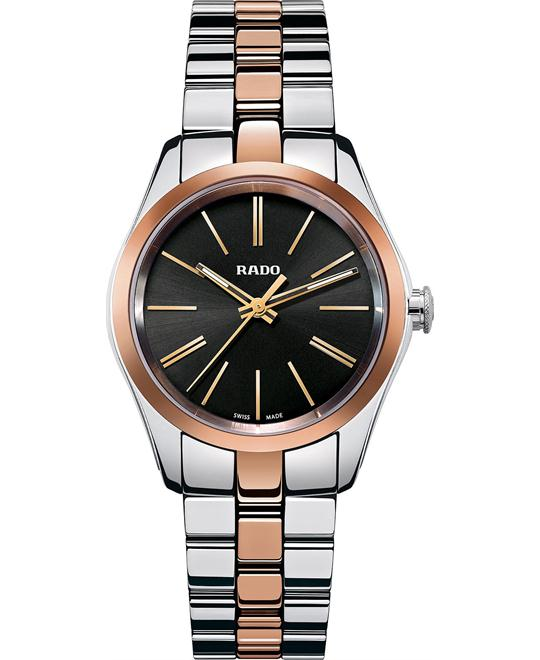 Rado Women's Swiss Rose Gold-Tone Stainless Steel 31mm