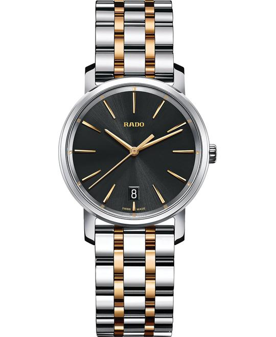 Rado Diamaster Swiss Two-Tone Watch 33mm