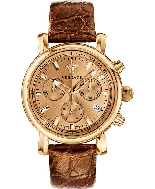 Versace Day Glam Gold-Tone Women's Watch 38mm