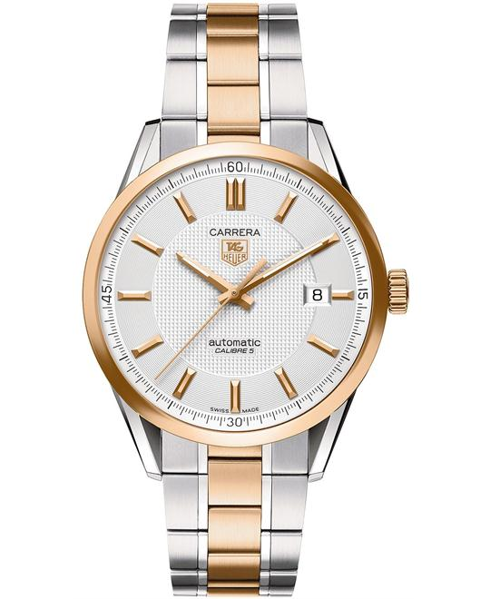 TAG HEUER CARRERA CALIBRE 5 SWISS AUTOMATIC 39MM